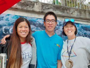 Li Ling, me and Edie