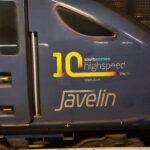 a Javelin train